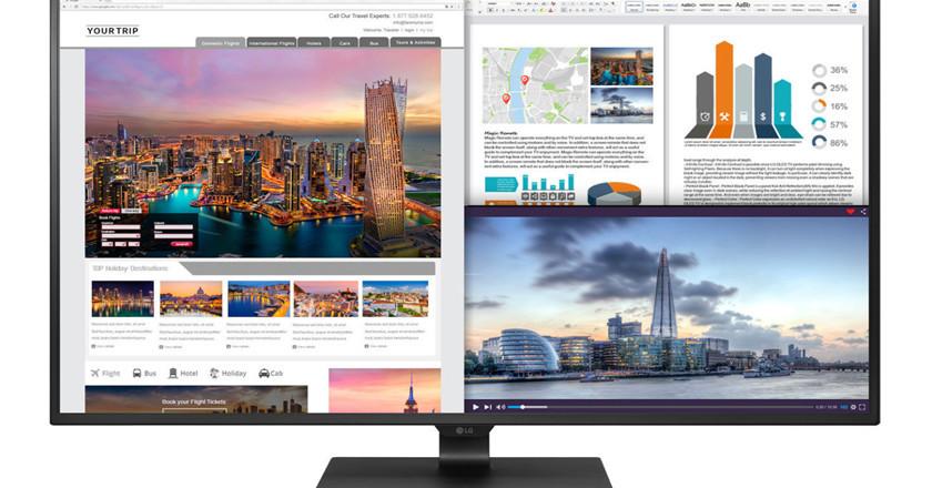 monitores 4K para empresas