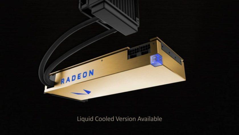 la Radeon Vega Frontier Edition