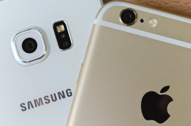Apple y Samsung