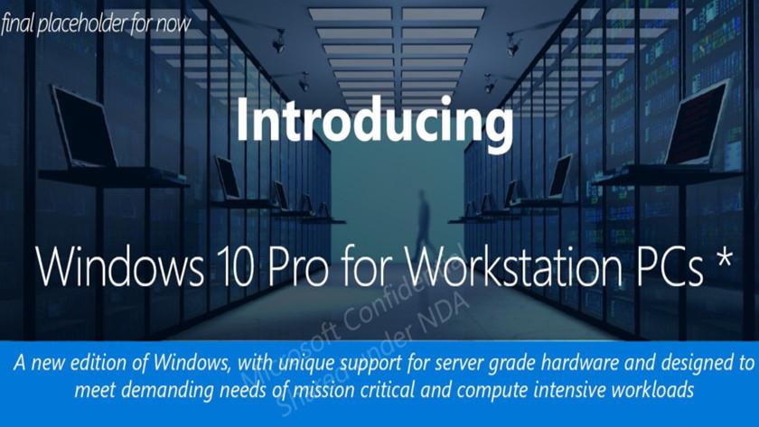 Windows 10 Pro para Workstations