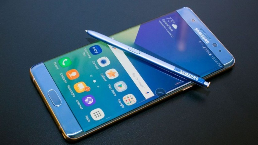 del Galaxy Note 7