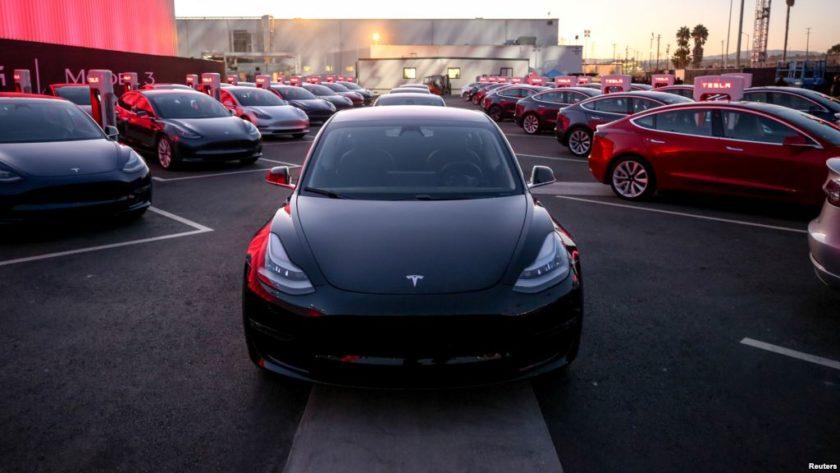 del Tesla Model 3