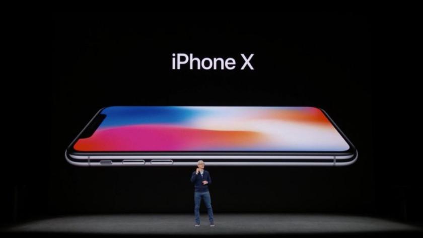 iPhone X en 2017