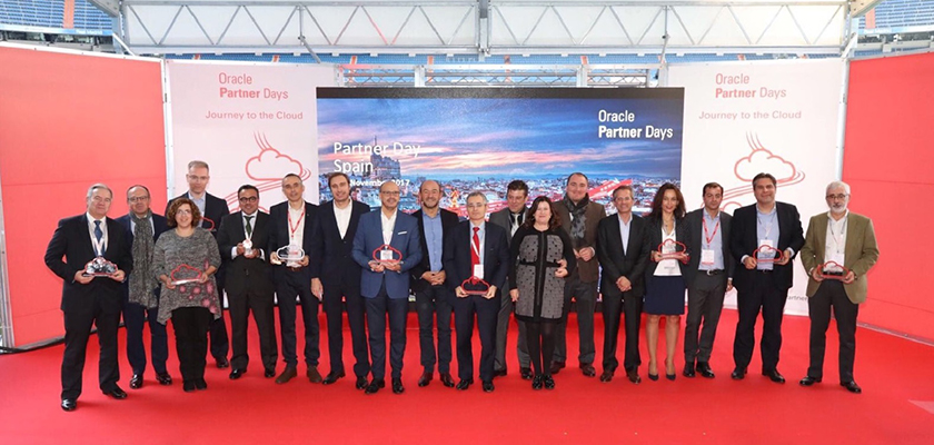 Partners premiados en Oracle Partner Day