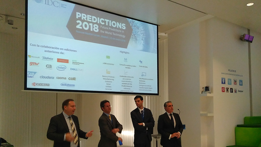 Predictions IDC Research España_Analistas y Jorge Gil