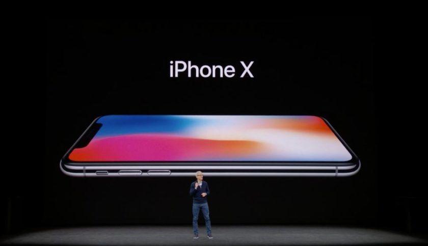 iPhone X en Europa