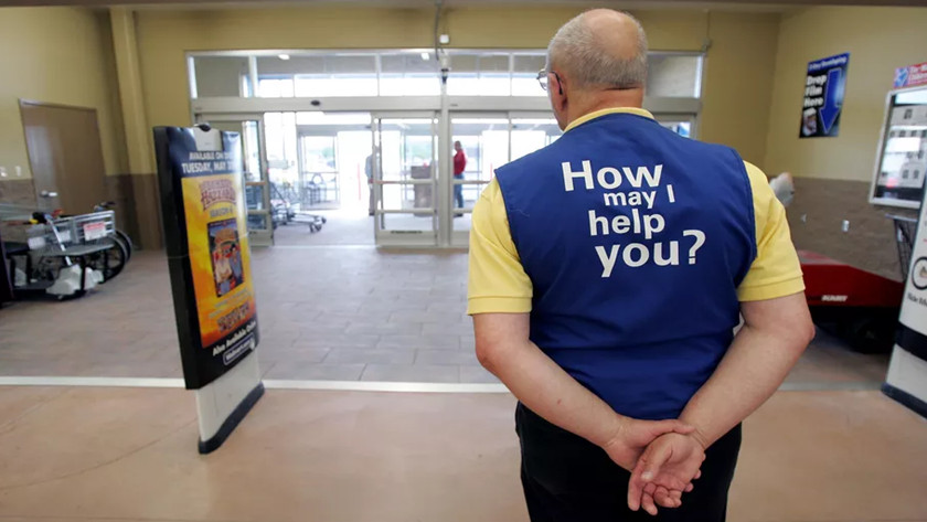 Walmart cajeros