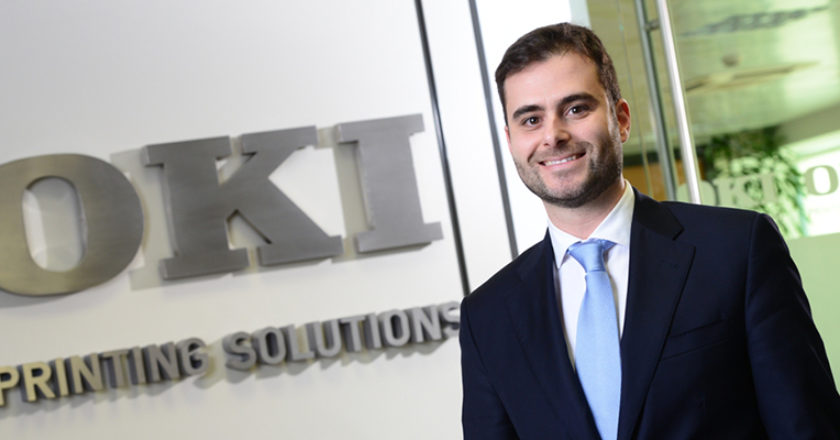 Tiago Caldas, Director Ventas OKI Iberia