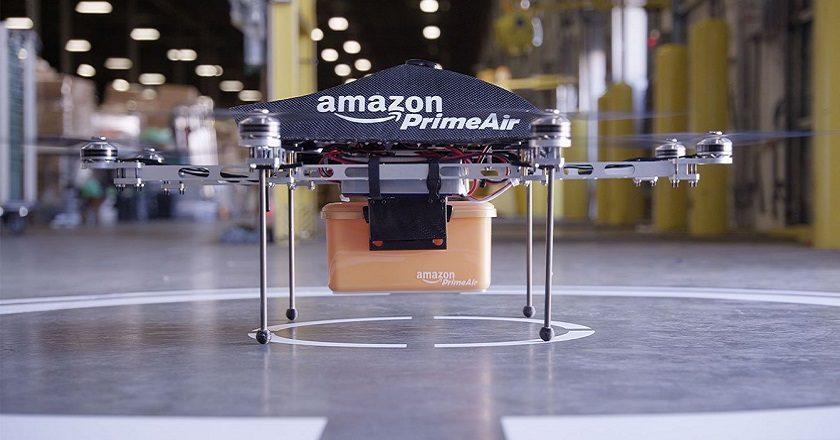 drones para mensajería