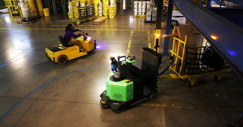 futuro robótico logística