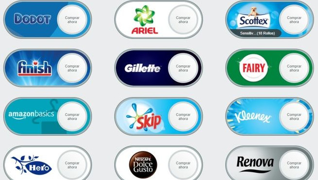 Dash Buttons Virtuales