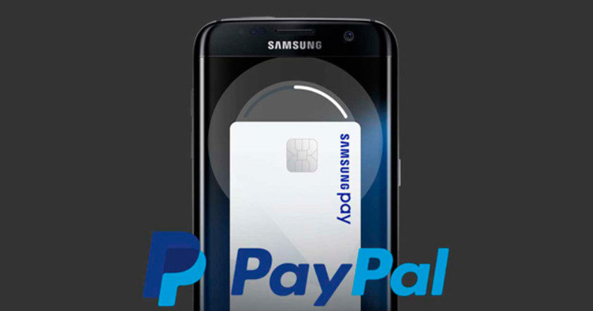 Samsung Pay y PayPal