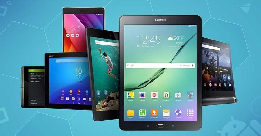 envíos mundiales de tablets