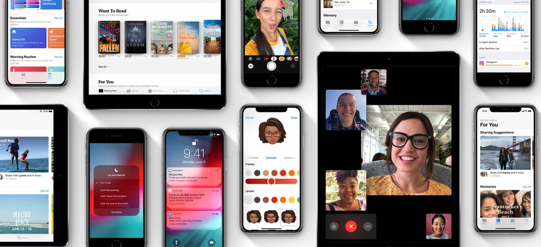 iOS 12 y macOS Mojave