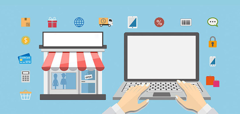 Retail E-commerce On-line Off-line