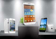 Samsung Huawei Apple
