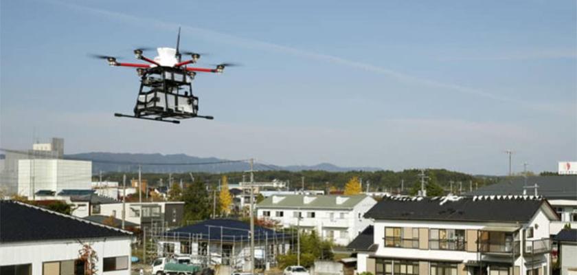 Drones Japón