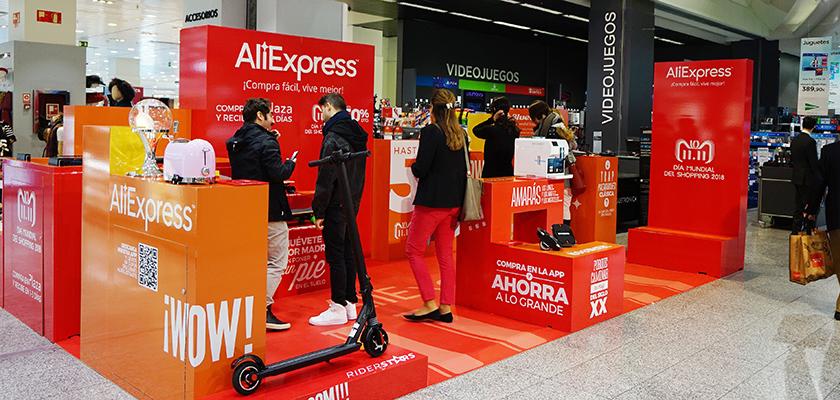 aliexpress Pop Up ECI Sanchinarro