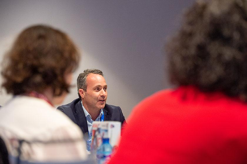 Christian Kerr, vicepresidente para partners de NetApp EMEA
