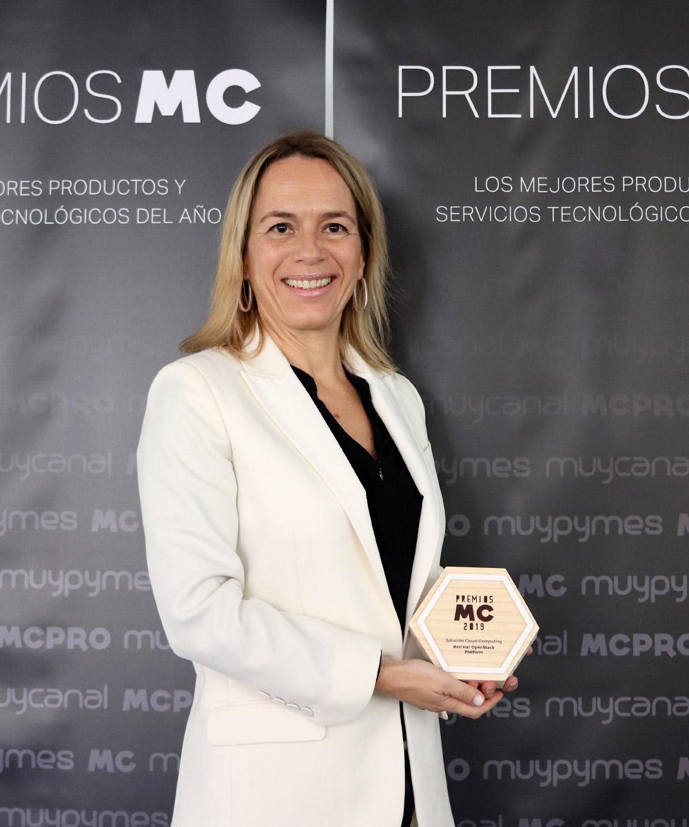 Imagen | Ana Rocha de Oliveira, responsable de desarrollo de negocio de Cloud para España y Portugal