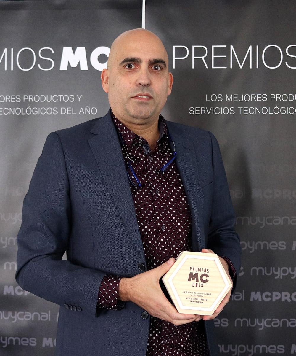 Imagen | Carlos Infante , Director de Redes de Cisco