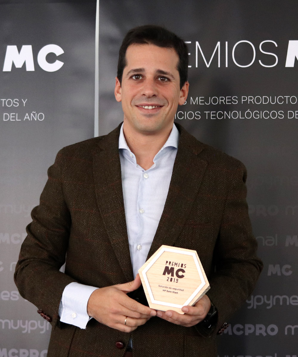 Imagen | Carlos Marina, Category Manager Commercial Notebooks en HP