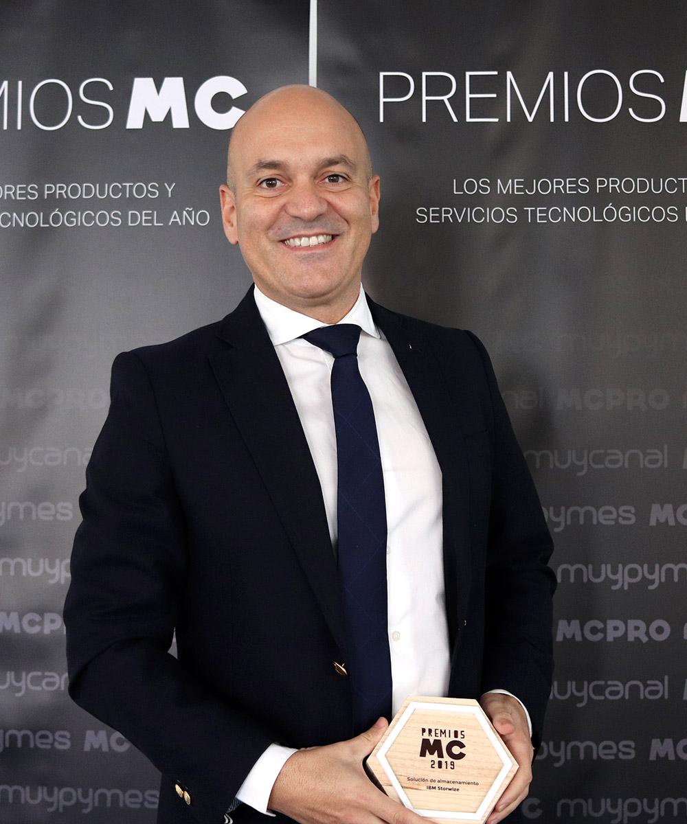Julián Jiménez, director de Soluciones de Almacenamiento de IBM España