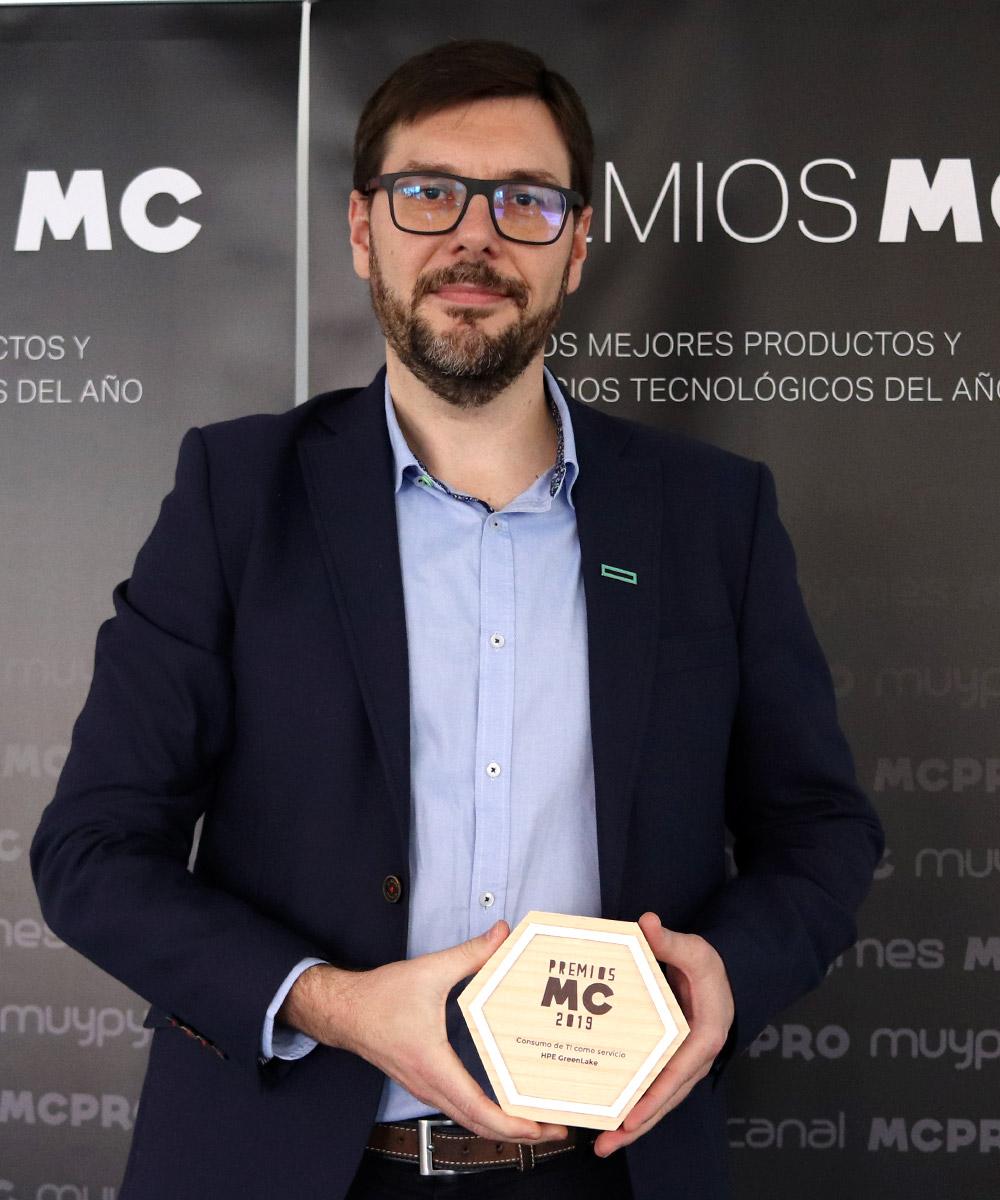 Carlos Marco, HPE GreenLake Sales