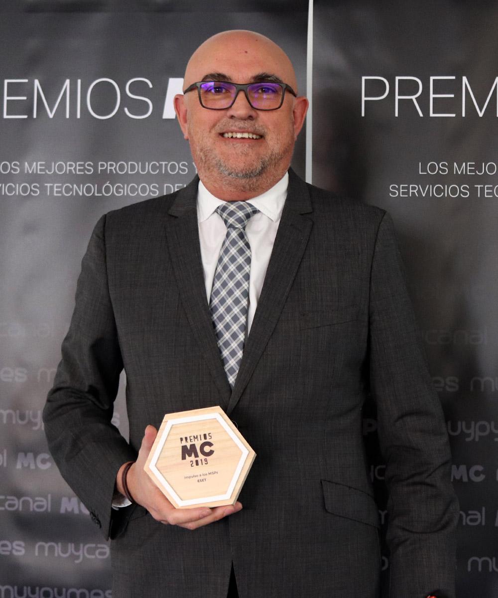 Carlos Tortosa, Director de canal y grandes cuentas de ESET España