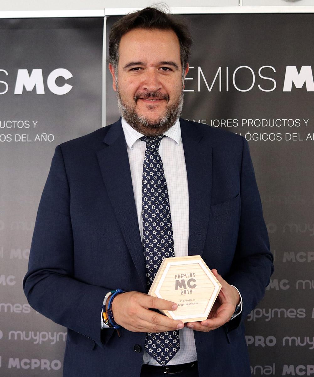 Roberto Montero, Director Comercial de la Actividad de Servicios de econocom