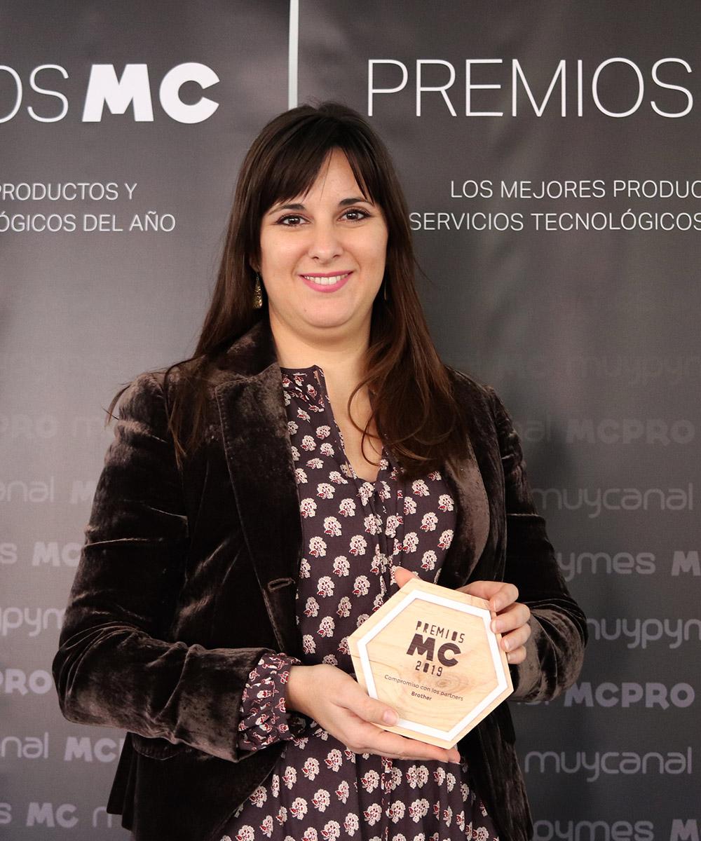Patricia Maireles, departamento de Márketing de Brother