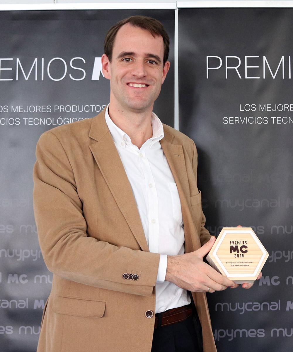 Tomás Antoranz Pardo, Director General de ICP Tech. Solutions