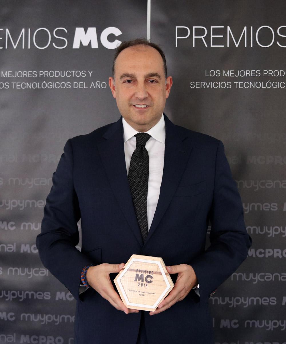 David Tajuelo, director general de NFON Iberia