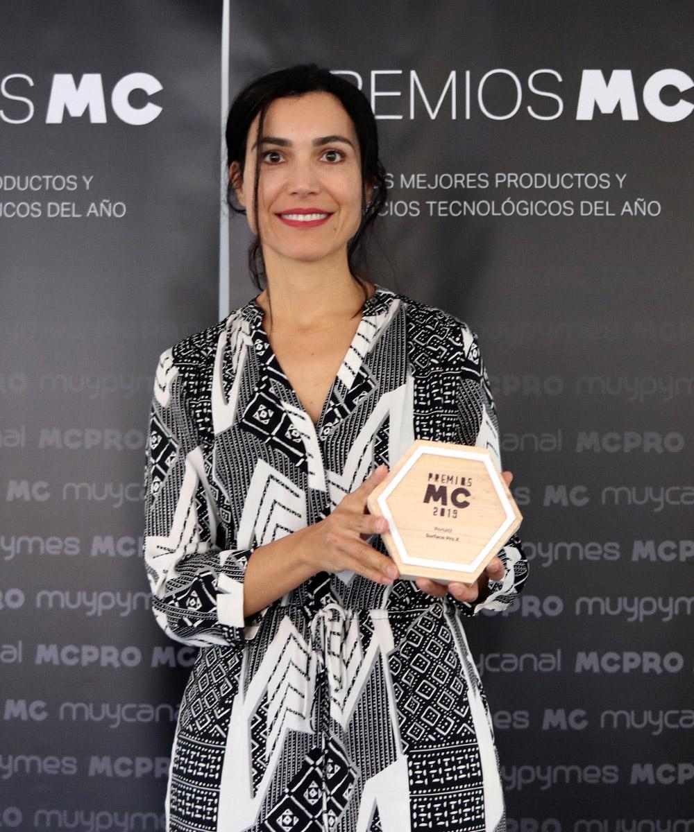 Imagen | Carolina Castillo Directora de Empresas y Partners de Microsoft Ibérica
