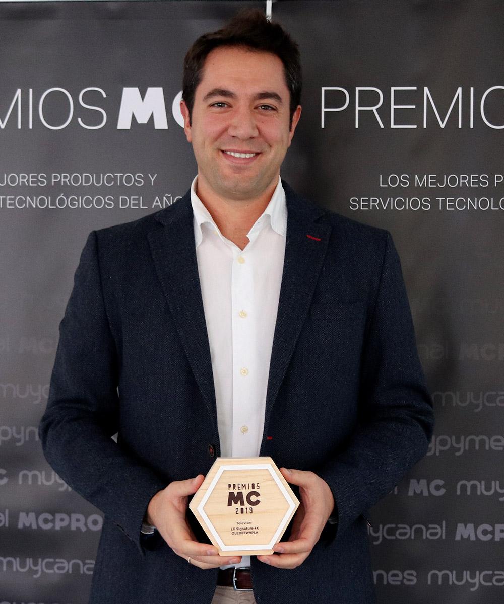 Sergio San Segundo, Marketing Manager de HE en LG