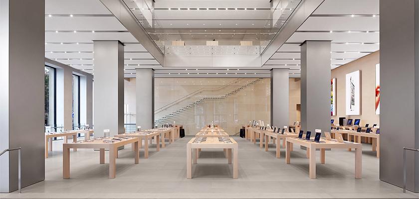 Apple Store cierre tiendas