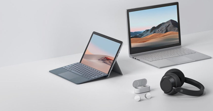 Microsoft Surface Go y Surface Book