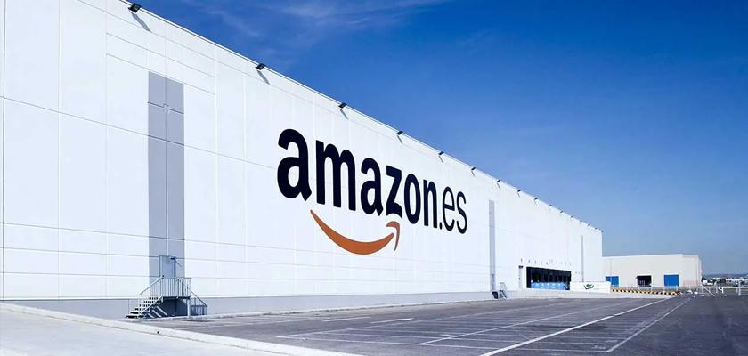 Amazon centro logístico Madrid Alcalá de Henares