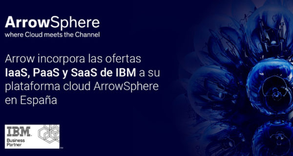 Arrow Sphere Iaas PaaS SaaS IBM