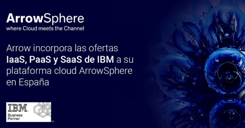 Arrow Sphere Iaas PaaS SaaS IBM